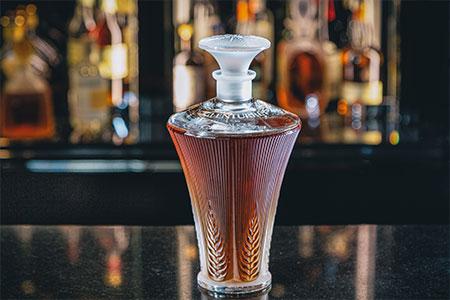 The Glenturret Provenance Decanter by Lalique