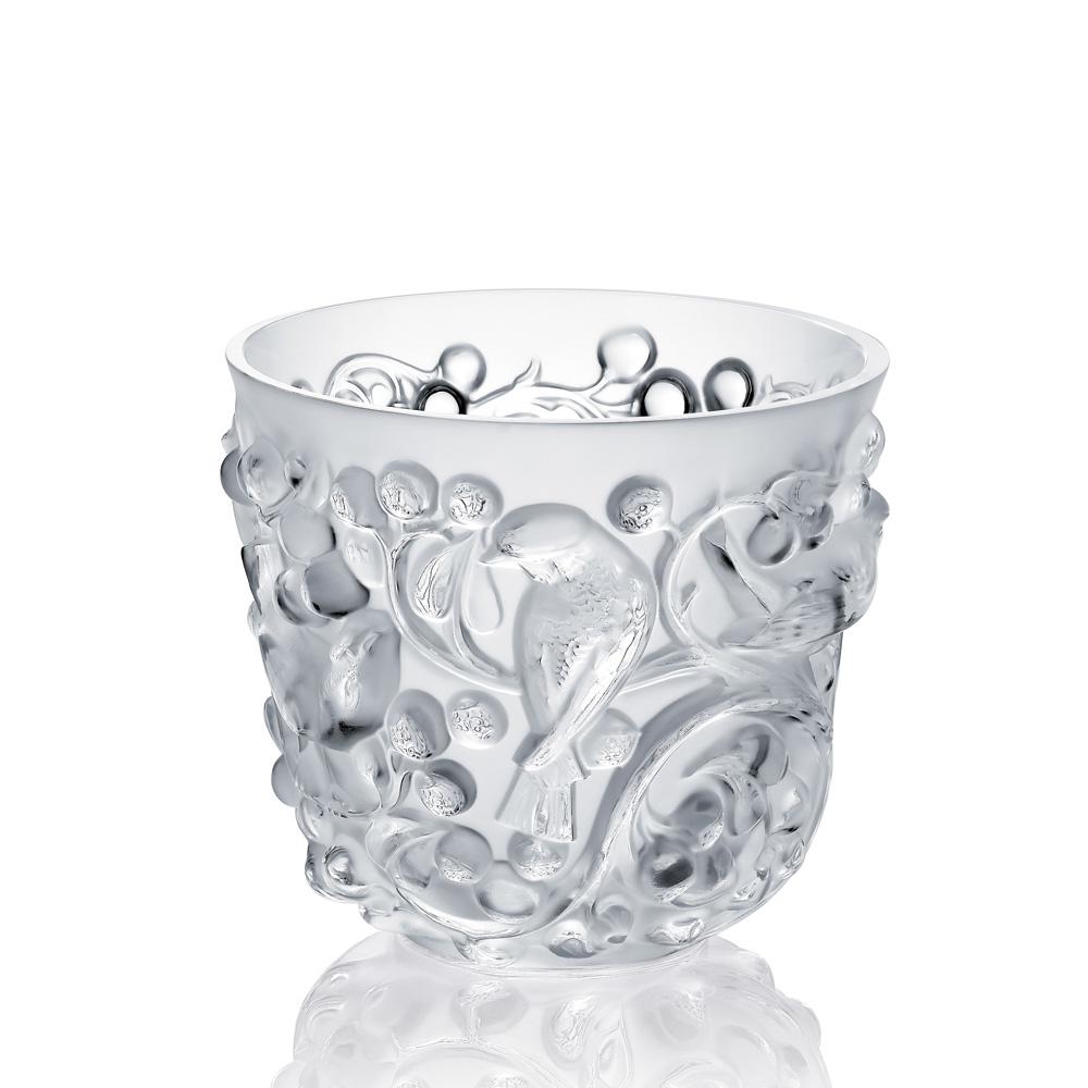 Avallon vase   Clear crystal   Vase Lalique