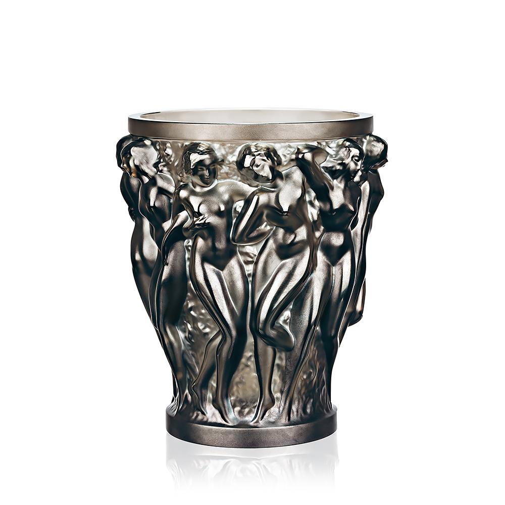 Bacchantes vase | Bronze crystal | Vase Lalique